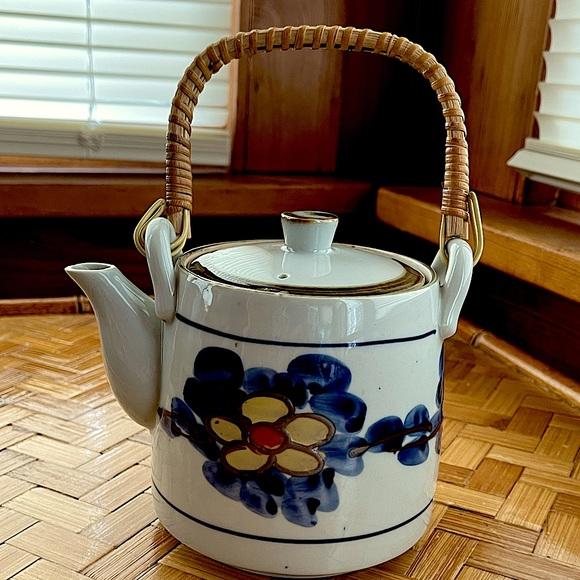 Little vintage ceramic teapot